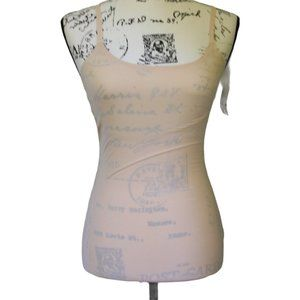 NWT SPANX by Sara Blakely Beige Fitted Tank Top